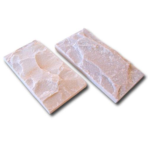 Piedra Escarfilada Blanca