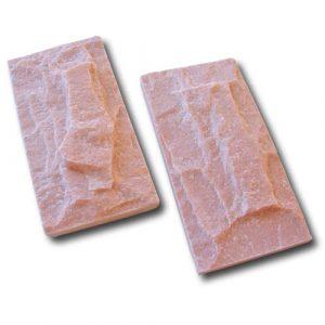 Piedra Escarfilada Salmón