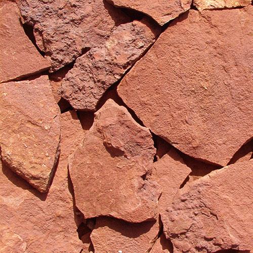 Piedra Rústica Roja